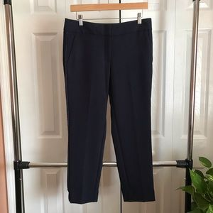 LOFT Navy Ankle Trousers